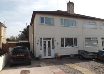 Thumbnail 3 bed semi-detached house for sale in Madryn Avenue, Rhyl, Denbighshire, North Wales
