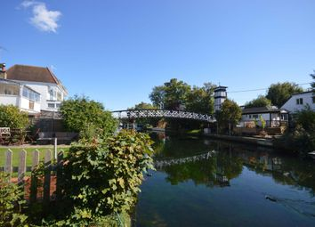 Thumbnail 3 bed detached house for sale in Riverside, Lower Hampton Road, Sunbury-On-Thames