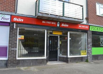 Thumbnail Retail premises to let in Mill Street, Leek, Staffordshire