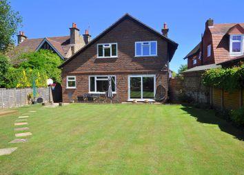 Thumbnail 4 bed detached house for sale in Glynde Avenue, West Hampden Park, Eastbourne