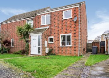 Thumbnail 3 bed semi-detached house for sale in Dains Place, Felixstowe