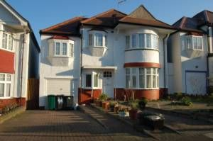 Thumbnail 5 bed terraced house to rent in Greyhound Hill, Hendon