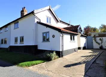 Thumbnail 4 bed cottage for sale in Hill Road, Tibenham, Norwich
