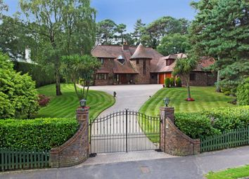 Thumbnail 5 bed detached house for sale in Bury Road, Branksome Park, Poole