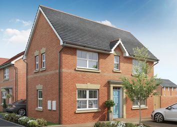 "Thumbnail 3 bed detached house for sale in ""Ennerdale"" at Millens Row, Ashford Road, Leaveland, Faversham"