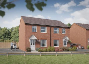 Thumbnail 2 bed semi-detached house for sale in Hawthorn Drive, Norton Canes, Cannock