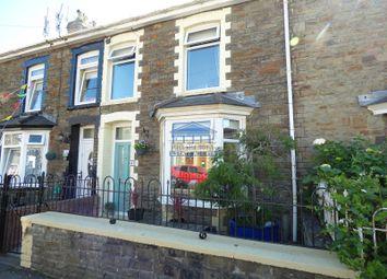Thumbnail 2 bed terraced house for sale in St. John Street, Ogmore Vale, Bridgend .