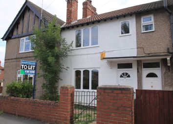 Thumbnail 3 bed terraced house to rent in Arthur Street, Bentley, Doncaster