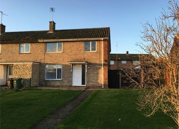 Thumbnail 1 bed end terrace house to rent in Mantlefield Road, Corby, Northamptonshire