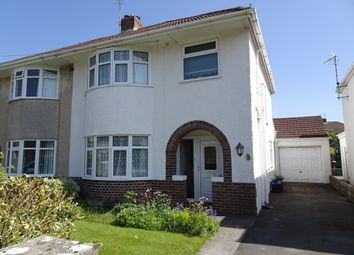 Thumbnail 3 bed semi-detached house for sale in Austin Avenue, Newton, Porthcawl