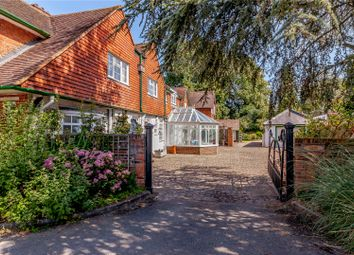 Thumbnail 5 bed detached house for sale in Church Road, Windlesham, Surrey