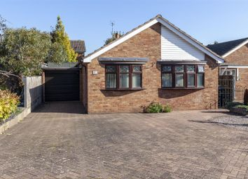 Thumbnail 2 bed bungalow for sale in Blenheim Crescent, Broughton Astley, Leicester