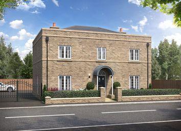Thumbnail 4 bed detached house for sale in Crest Drive, Fenstanton