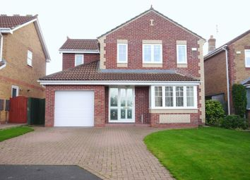 Thumbnail 4 bedroom detached house for sale in Conway Close, Bedlington