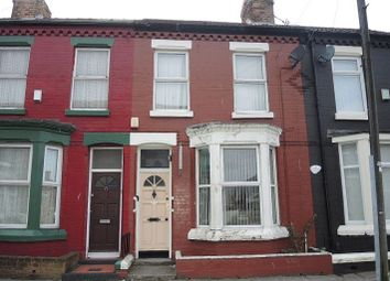 Thumbnail 3 bed terraced house for sale in Romer Road, Kensington, Liverpool