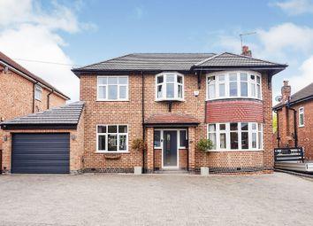 Thumbnail 4 bed detached house for sale in Sandringham Avenue, Burton-On-Trent