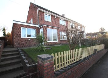 Thumbnail 4 bedroom semi-detached house for sale in Chace Avenue, Toll Bar End, Coventry