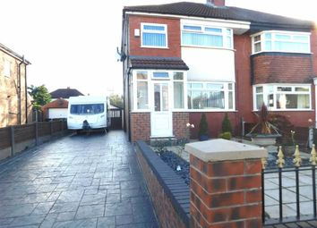 Thumbnail 3 bed semi-detached house for sale in Beauvale Avenue, Offerton, Stockport