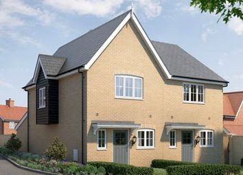 Thumbnail 2 bed semi-detached house for sale in The Ashby At St Michael's Hurst, Barker Close, Bishop'S Stortford, Hertfordshire