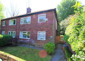 Thumbnail 3 bedroom flat for sale in Mountside Crescent, Prestwich, Manchester