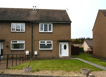 Thumbnail 2 bed terraced house to rent in School Road, Laurieston, Falkirk