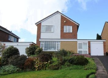 Thumbnail 3 bed detached house for sale in Fairway, Stoke-On-Trent