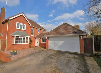 Thumbnail 4 bed detached house for sale in Rosemary Drive, Uttoxeter