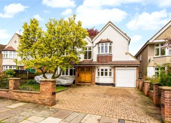 Thumbnail 5 bed detached house for sale in St. Stephens Avenue, St. Albans, Hertfordshire