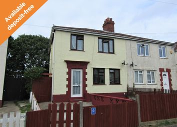 Thumbnail 4 bedroom semi-detached house to rent in Beryton Road, Gosport