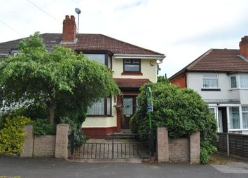 Thumbnail 3 bedroom semi-detached house for sale in Moorpark Road, Birmingham