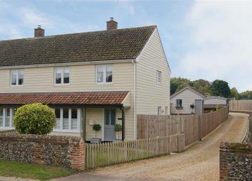 Thumbnail 3 bed semi-detached house for sale in The Street, Cavenham, Bury St. Edmunds