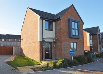 Thumbnail 4 bed detached house for sale in Glover Drive, Peterborough