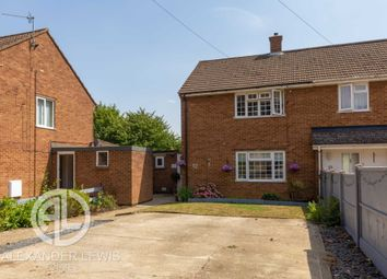 Thumbnail 3 bed end terrace house for sale in Ordelmere, Letchworth Garden City