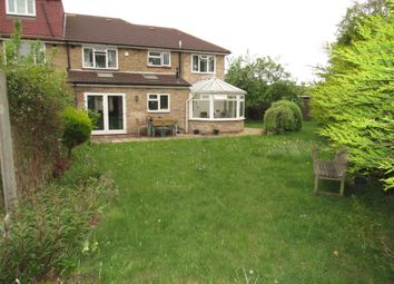 Thumbnail 4 bedroom semi-detached house for sale in Fryent Way, Kingsbury