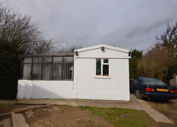 Thumbnail 2 bed detached bungalow for sale in Grove Hall Caravan Site, Knottingley