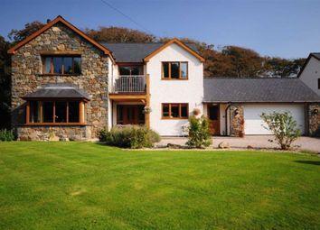 Thumbnail 5 bedroom detached house for sale in Fronhaul, Ffordd Y Crynwyr, Llwyngwril, Gwynedd
