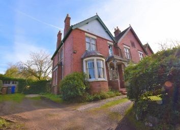 Thumbnail 4 bed semi-detached house for sale in Queens Road, Penkhull, Stoke-On-Trent