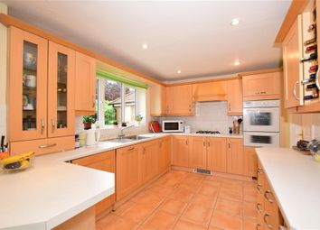 Thumbnail 4 bed detached house for sale in Cobham Drive, Kings Hill, West Malling, Kent