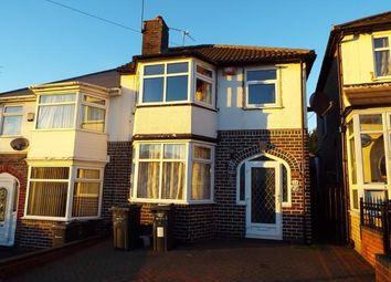 Thumbnail 3 bed semi-detached house for sale in Farrington Road, Birmingham, West Midlands