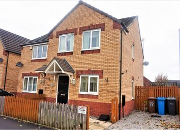 Thumbnail 3 bedroom semi-detached house for sale in Frank Birchall Close, Manchester