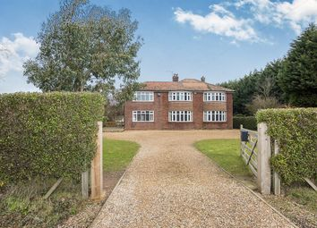 Thumbnail 5 bedroom detached house for sale in Bridge Road, Long Sutton, Spalding
