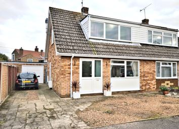 Thumbnail 2 bed semi-detached house for sale in Brent Avenue, Snettisham, King's Lynn