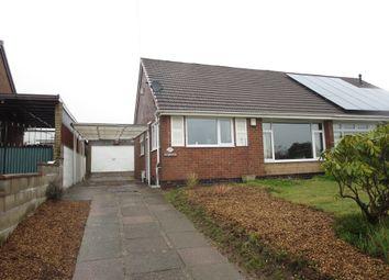 Thumbnail 2 bed semi-detached bungalow for sale in Weldon Avenue, Weston Coyney, Stoke-On-Trent