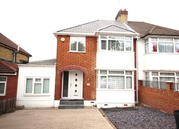 Thumbnail 4 bed semi-detached house to rent in Western Parade, Long Lane, Hillingdon, Uxbridge