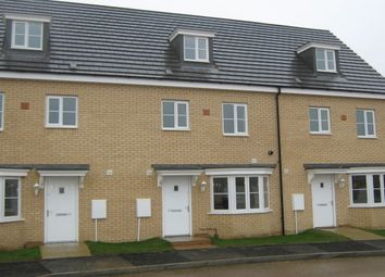 Thumbnail 4 bedroom terraced house to rent in Apollo Avenue, Farcet, Peterborough