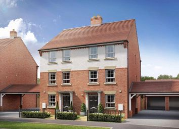 "Thumbnail 4 bed semi-detached house for sale in ""Faversham"" at Broughton Crossing, Broughton, Aylesbury"