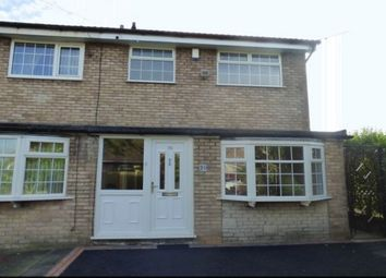 Thumbnail 3 bed semi-detached house to rent in Bradfield Close, Reddish