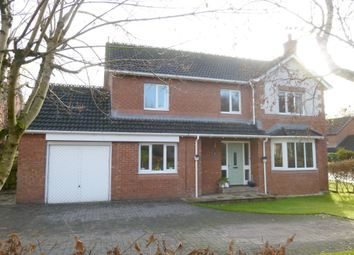 Thumbnail 4 bed detached house for sale in Woodgrove Road, Dumfries