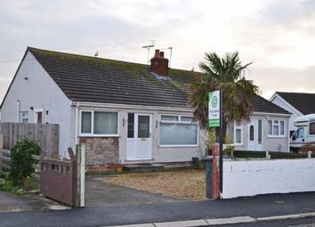 Thumbnail 2 bed semi-detached bungalow to rent in Pen Lan, Towyn