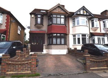 Thumbnail 4 bed end terrace house for sale in Chadville Gardens, Chadwell Heath, Romford